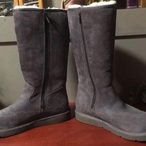 UGG Sunset II Grey Boots 🥾